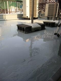 とりあえず屋上防水終了