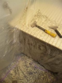 お風呂場の塗装
