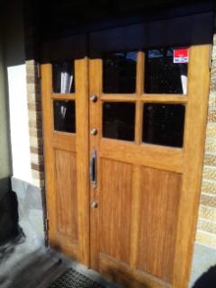 木製玄関扉