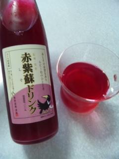 赤紫蘇ドリンク